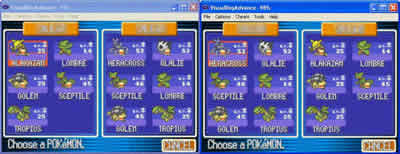 Leaf Green Pokemon List Pokemon Leaf Green
